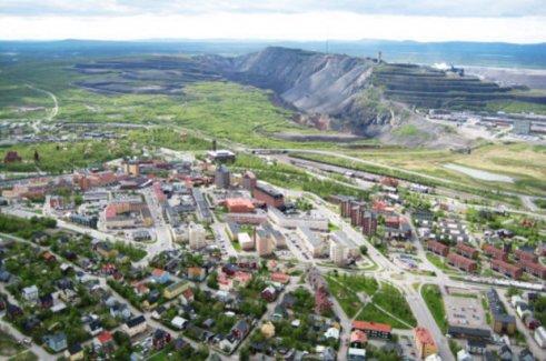 Maden şirketi İsveç kasabasını taşıyacak