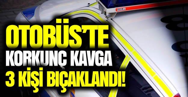 Malmö'de otobüs kavgası 3 kişi bıçaklandı!