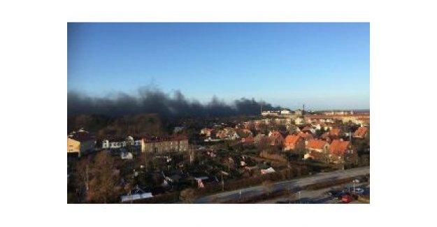 Malmö'deki Yangın 3 Belediye Bölgesi Sakinlerini Hapis Etti