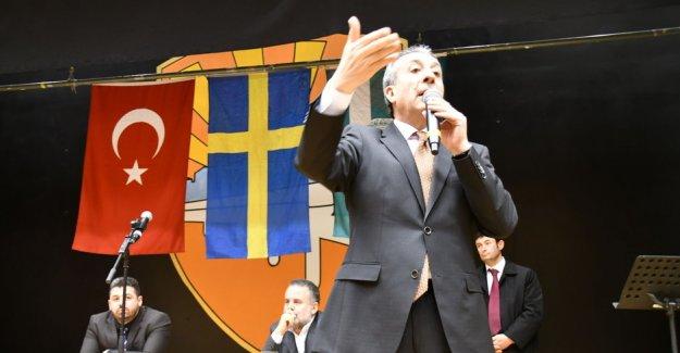 Mehdi Eker, İsveç hükümetine teşekkür etti