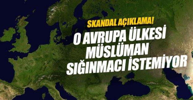 MÜSLÜMAN GÖÇMEN İSTEMİYORUZ!!