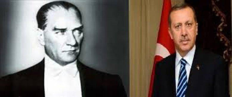 Norveç'te skandal Atatürk ve Erdoğan fotoğrafı