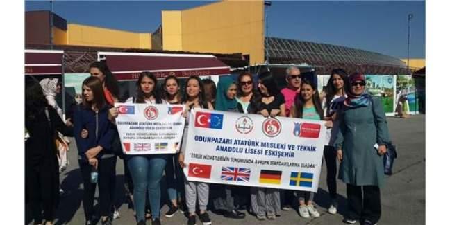 Odunpazarı Atatürk Mesleki Ve Teknik Anadolu Lisesi Öğrencileri İsveç'e Gitti