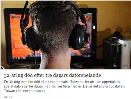 Oyun bağımlısı, bilgisayar başında öldü
