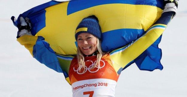 Özlem yarışı bitiremedi. Altın İsveç'e gitti