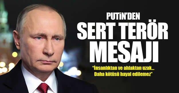 Putin'den Reina'daki saldırı hakkında açıklama