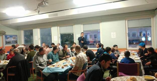 Rinkeby'de iftar yemeği verildi