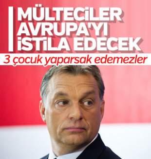 Macar Başbakan'dan sığınmacı krizine karşı çocuk önerisi