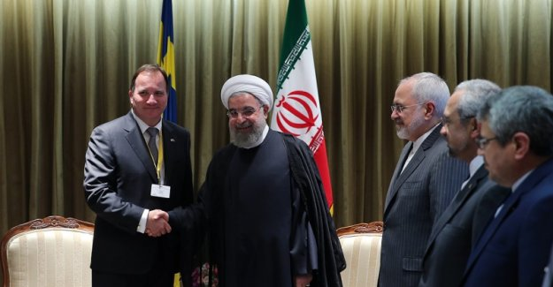 Ruhani: Tahran-Stockholm ilişkilerinde yeni dönem başlamıştır