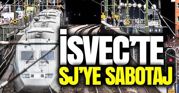 SJ trenlerine sabotaj