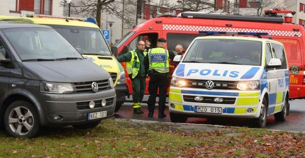 Skärholmen'de bir aracın içinde bomba bulundu