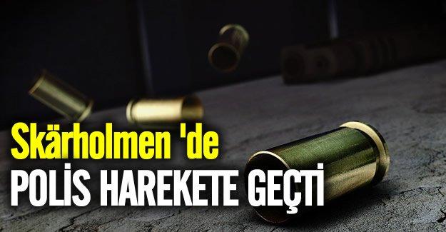 Skärholmen'de silah sesleri polisi harekete geçirdi