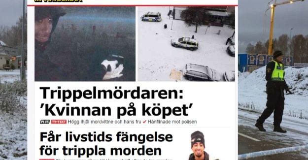Stockholm'de 3 kişiyi öldürmekten 25 yılla yargılanıyor