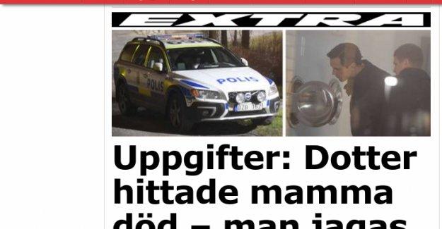 Stockholm'de bir kadın evinde ölü bulundu