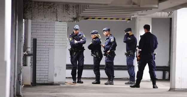 Stockholm'de güvenlik görevlisi saldırıya uğradı