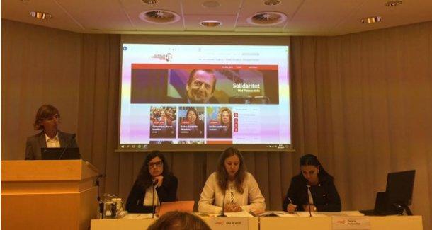 Stockholm'de Kırım Tatarlarına karşı uygulanan baskılar konuşuldu