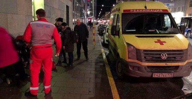 Stockholm'de Rus ambulansı şaşkınlığa neden oldu