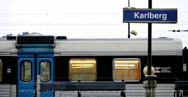 Stockholm'de trenler durdu