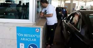 3 günde 84 bin tatilci Kapıkule'den girdi