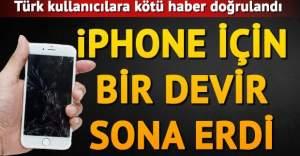 Apple kötü haberi doğruladı: Bundan böyle Türkiye'de