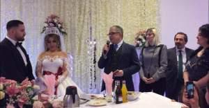 Büyükelçi Emre Yunt, Stockholm'de düğüne katıldı