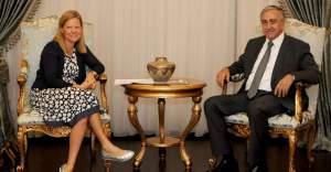 Cumhurbaşkanı Akıncı, İsveç Büyükelçisi Vrang'ı kabul etti
