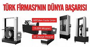 Dünya'nın kalitesine dokunuş yapan Türk firması