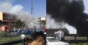 Elazığ'da büyük patlama ölü ve yaralılar var!