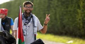 Filistin için İsveç'ten yola çıkan Ladraa, Ankara'da