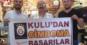 Galatasaray'a İsveç'te Kulululardan destek