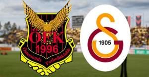 Galatasaray'ın rakibi Östersunds'dan...