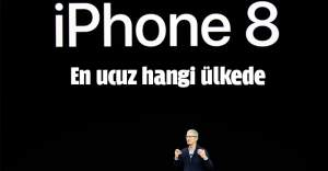 İPHONE8 EN UCUZ HANGİ ÜLKEDE