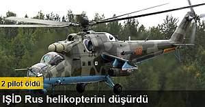 IŞİD Rus helikopterini düşürdü: 2 pilot öldü