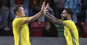 İsveç deplasmanda Portekiz'i 3-2 yendi