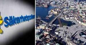 İsveç'in başkenti Stockholm'de terör alarmı verildi.