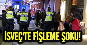 İsveç polisi dilencileri fişledi