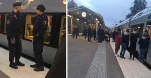 İsveç'te bir yolcu trende bıçaklandı