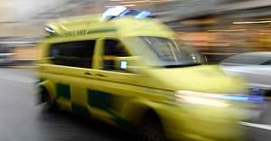 İsveç'te feci kaza 4 kişi ağır yaralı
