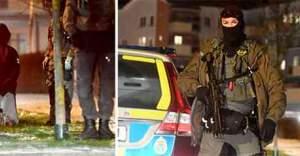 İsveç'te giden arabaya ateş açıldı:1 ölü