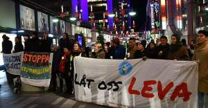 İsveç'te sığınmacı çocuklardan Nobel töreni öncesi protesto