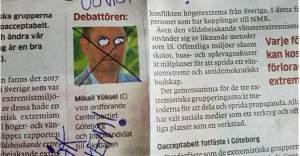 İsveç'te Türk kökenli siyasetçiye ırkçı mektup