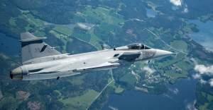 İsveç'in yeni uçağı Gripen E havalandı
