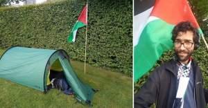 İsveçli Yahudi Aktivist, İsrail Zulmünü Dünyaya Anlatmak İçin Filistin'e Yürüyor