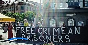 İsveç'te Kırımlı tutuklular için kampanya