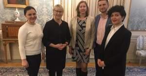 Kırımlı hak savunucuları İsveç Dışişleri Bakanıyla görüştü