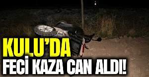 Kulu'da feci kaza: 2 kişi öldü