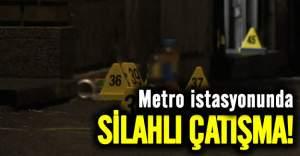 Metro istasyonunda çatışma