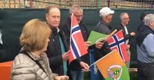 Norveçli vatandaşlardan Fenerbahçe maçına ilgi