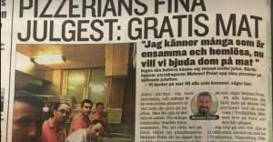 Polat kardeşleri İsveçlilere Noel'de bedava yemek ikram edecek