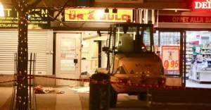 Skärholmen'de  bir kuyumcu dükkanı soyuldu
